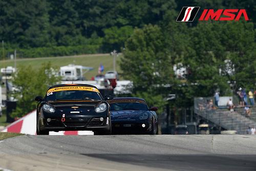 8-10 August  2014, Elkhart Lake, Wisconsin USA<br /> 04, Porsche, Boxster, ST, Remo Ruscitti, Adam Isman<br /> &copy;2014, Richard Dole<br /> LAT Photo USA for IMSA
