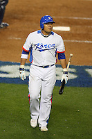 Shin Soo Choo of Korea during a game against Japan at the World Baseball Classic at Dodger Stadium on March 23, 2009 in Los Angeles, California. (Larry Goren/Four Seam Images)