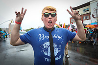NEW YORK, EUA, 17.06.2017 - SEREIA-DESFILE - Participantes durante durante a Parada da Sereia em Coney Island no Brooklyn nos Estados Unidos neste sábado, 17. (Foto: Vanessa Carvalho/Brazil Photo Press)