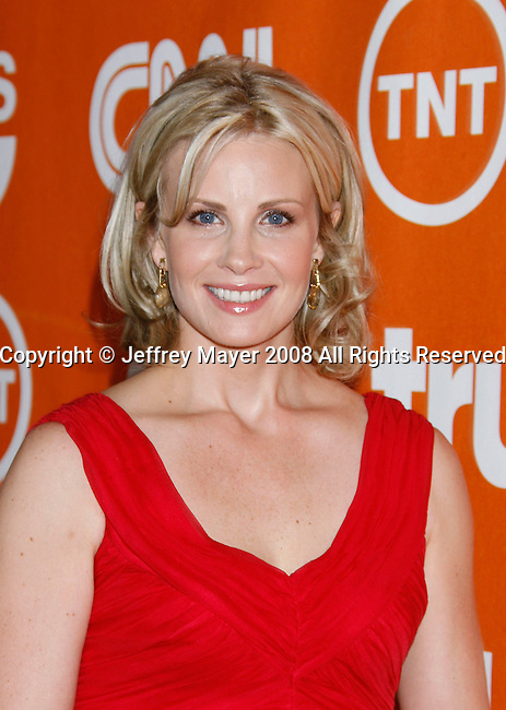 Actress Monica Potter arrives at the Turner Broadcasting TCA Party at The Oasis Courtyard at The Beverly Hilton Hotel on July 11, 2008 in Beverly Hills, California.