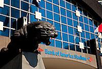 Bank of America Stadium in Charlotte, North Carolina.
