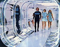 Logan's Run (1976) <br /> Michael York, Jenny Agutter &amp; Farrah Fawcett<br /> *Filmstill - Editorial Use Only*<br /> CAP/KFS<br /> Image supplied by Capital Pictures