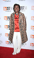"NEW YORK, NY-September 30:Deborah Roberts at 54th New York Film Festival - Opening Night Gala Presentation And ""13th"" World Premiere at Alice Tully Hall at Lincoln Center in New York. September 30, 2016. Credit:RW/MediaPunch"