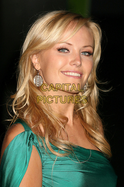 MALIN AKERMAN.Paramount - DreamWorks Official Golden Globes After Party at The Beverly Hilton Hotel, Beverly Hills, California, USA..January 15t, 2007.headshot portrait circle earrings silver.CAP/ADM/BP.©Byron Purvis/AdMedia/Capital Pictures