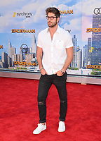 Nick Bateman at the world premiere for &quot;Spider-Man: Homecoming&quot; at the TCL Chinese Theatre, Los Angeles, USA 28 June  2017<br /> Picture: Paul Smith/Featureflash/SilverHub 0208 004 5359 sales@silverhubmedia.com