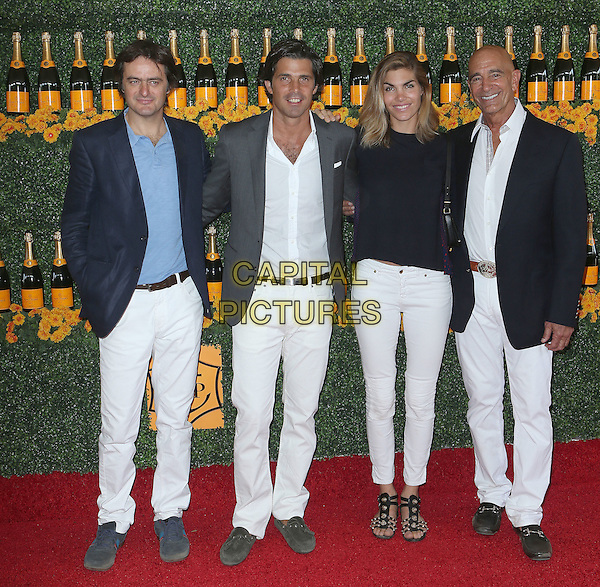 17 October 2015 - Pacific Palisades, California - Delfina Blaquier, Nacho Figueras. Sixth-Annual Veuve Clicquot Polo Classic, Los Angeles held at Will Rogers State Historic Park. <br /> CAP/ADM/FS<br /> &copy;FS/ADM/Capital Pictures
