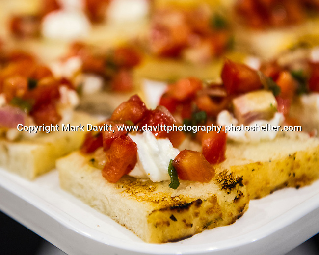 The Altoona Chamber of Commerce again hosted Taste of Altoona at Prairie Meadows Sept. 5. The event offers Altoona area residents an opportunity to sample appetizers, entrees and desserts from area businesses. Bruschetta was offered by Johnny's Italian Steak House.