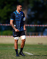 Vaea Fifita of the Hurricanes during the Hurricanes training session at  Northwood High School Durban North in Durban, South Africa on Tuesday, 28 May 2019. Photo: Steve Haag / stevehaagsports.com