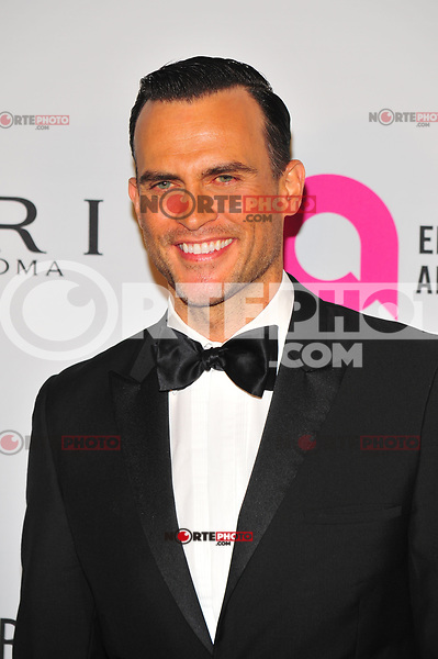 NEW YOKR, NY - NOVEMBER 7: Cheyenne Jackson at The Elton John AIDS Foundation's Annual Fall Gala at the Cathedral of St. John the Divine on November 7, 2017 in New York City. Credit:John Palmer/MediaPunch /NortePhoto.com