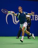 December 189 2014, Rotterdam, Topsport Centrum, Lotto NK Tennis, Men's quarterfinal, )   Scott Griekspoor (NED)<br /> Photo: Tennisimages/Henk Koster