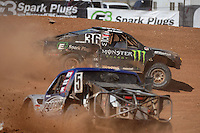 Apr 17, 2011; Surprise, AZ USA; LOORRS driver Rick Huseman (36) during round 4 at Speedworld Off Road Park. Mandatory Credit: Mark J. Rebilas-