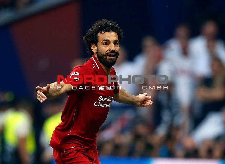 Liverpool's FC Mohamed Salah during UEFA Champions League match, Final Roundl between Tottenham Hotspur FC and Liverpool FC at Wanda Metropolitano Stadium in Madrid, Spain. June 01, 2019.(Foto: nordphoto / Alterphoto /Manu R.B.)