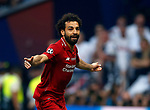 Liverpool's FC Mohamed Salah during UEFA Champions League match, Final Roundl between Tottenham Hotspur FC and Liverpool FC at Wanda Metropolitano Stadium in Madrid, Spain. June 01, 2019.(Foto: nordphoto / Alterphoto /Manu R.B.)