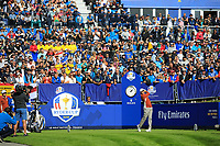 Sergio Garcia (Team Europe) during the Saturday Foursomes at the Ryder Cup, Le Golf National, Paris, France. 29/09/2018.<br /> Picture Phil Inglis / Golffile.ie<br /> <br /> All photo usage must carry mandatory copyright credit (&copy; Golffile | Phil Inglis)