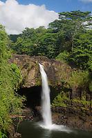 Rainbow Falls, Hilo, Hawai'i Island.