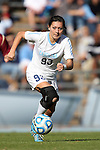 03 November 2013: North Carolina's Brooke Elby. The University of North Carolina Tar Heels hosted the Boston College Eagles at Fetzer Field in Chapel Hill, NC in a 2013 NCAA Division I Women's Soccer match and the quarterfinals of the Atlantic Coast Conference tournament. North Carolina won the game 1-0.
