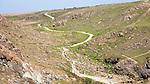 Path to car park Kynance Cove, Lizard peninsula, Cornwall, England, UK
