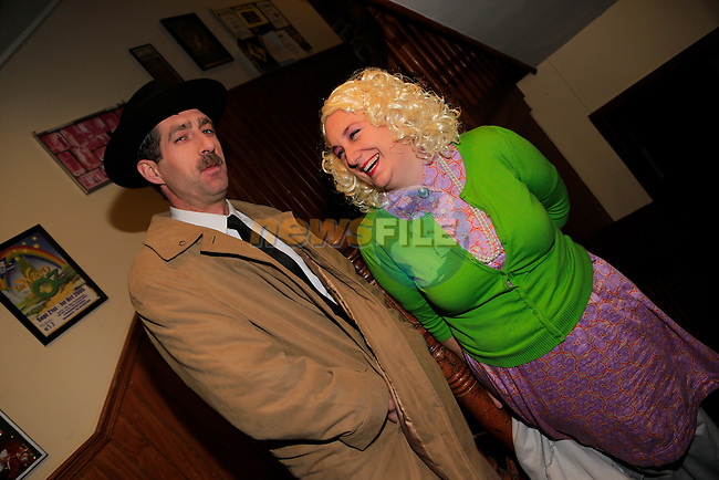 Fergus McDonald and Bianca Browne at the Little Duke Theatre<br /> Picture: Fran Caffrey www.newsfile.ie