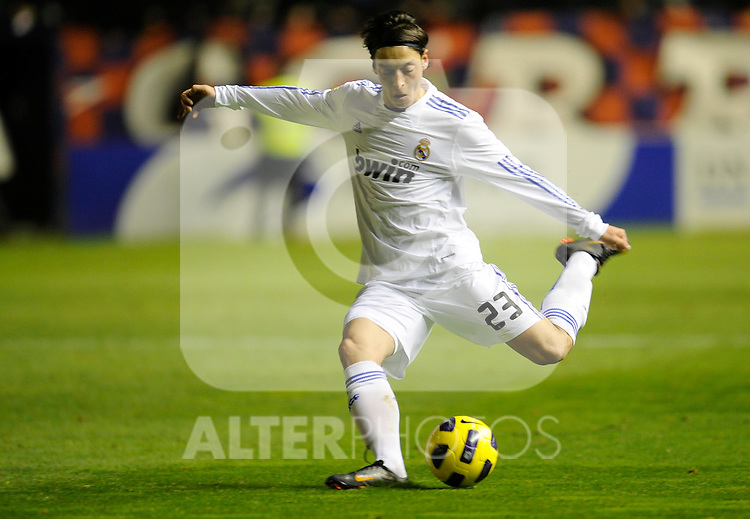 Spanish league match Osasuna vs Real Madrid. Mesut Ozil...Photo : Ricardo Ordonez / ALFAQUI.