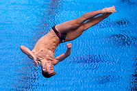 Picture by Alex Whitehead/SWpix.com - 11/04/2018 - Commonwealth Games - Diving - Optus Aquatics Centre, Gold Coast, Australia - Jack Haslam of England competes in the Men's 1m Springboard heats.