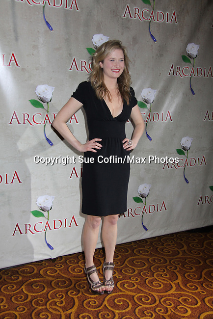 """Grace Gummer (daughter of Meryl Streep) stars in """"Arcadia"""" - Broadway Opening Night on March 17, 2011 at the Ethel Barrymore Theatre, New York City, New York.  Arrivals, Curtain Call and Party after at Gotham Hall. (Photo by Sue Coflin/Max Photos)"""