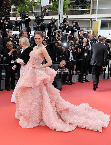 Araya A. Hargate at &quot;Cafe Society&quot; &amp; Opening Gala arrivals - The 69th Annual Cannes Film Festival, France on May 11, 2016.<br /> CAP/LAF<br /> &copy;Lafitte/Capital Pictures /MediaPunch ***NORTH AND SOUTH AMERICAN SALES ONLY***