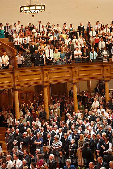 Salt Lake City - Funeral for President James E. Faust, a member of the First Presidency of the Church of Jesus Christ of Latter-day Saints..; 8.14.2007
