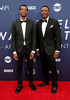 6 June 2019 - Hollywood, California - Destin Tucker, Chris Tucker. American Film Institute's 47th Life Achievement Award Gala Tribute To Denzel Washington held at Dolby Theatre.    <br /> CAP/ADM/FS<br /> ©FS/ADM/Capital Pictures