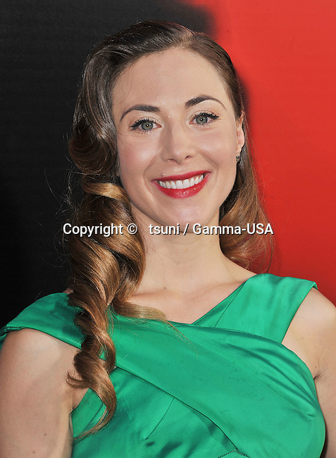 Bonnie Kathleen Ryan   arriving at True Blood Season 6 Premiere at the Arclight Theatre in Los Angeles.