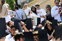 Roma, 9 Maggio 2014<br /> 'I Love EU' - Flash mob organizzato da Scelta Civica in occasione della Festa dell'Europa.