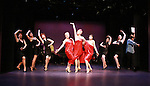 """Dottie Belle, Denise Pence (GL """"Katie Parker""""), Rise Clemmer perform """"One Dress"""" at """"Union Women at Work: Inspiration In Motion"""" on March 5, 2012 at Theatre at Saint Peter's Church - Home of The York Theatre, New York City, New York which was """"sponsored by Actors' Equity Associations Eastern EEO Committee.  The event was an Equity event in celebration of Womens History Month.  (Photo by Sue Coflin/Max Photos) (Photo by Sue Coflin/Max Photos)"""