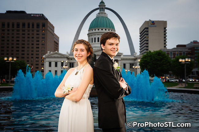 Olivia's prom posed pictures