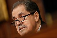 Chairman of the House Appropriations Subcommittee on Commerce, Justice, Science, and Related Agencies Jose Serrano (Democrat of New York) arrives to the Department of Justice's Budget Request for 2020 hearing on April 9, 2019. Photo Credit: Stefani Reynolds/CNP/AdMedia