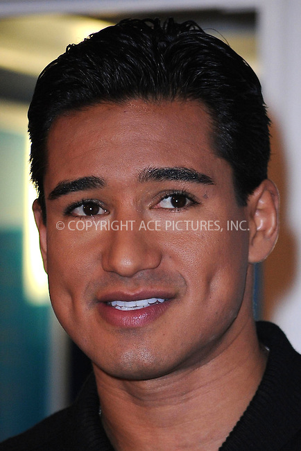 WWW.ACEPIXS.COM . . . . . ....November 23 2009, New York City....Actor Mario Lopez at the 4th annual opening of the Charmin Restrooms in Times Square on November 23, 2009 in New York City.....Please byline: KRISTIN CALLAHAN - ACEPIXS.COM.. . . . . . ..Ace Pictures, Inc:  ..tel: (212) 243 8787 or (646) 769 0430..e-mail: info@acepixs.com..web: http://www.acepixs.com