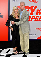 Ed Begley Jr. &amp; Rachelle Carson at the world premiere for &quot;The Spy Who Dumped Me&quot; at the Fox Village Theatre, Los Angeles, USA 25 July 2018<br /> Picture: Paul Smith/Featureflash/SilverHub 0208 004 5359 sales@silverhubmedia.com