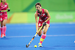 Miyuki Nakagawa (JPN), <br /> AUGUST 11, 2016 - Hockey : <br /> Women's Pool Match <br /> between Japan Women's 0-2 Great Britain Women's <br /> at Olympic Hockey Centre <br /> during the Rio 2016 Olympic Games in Rio de Janeiro, Brazil. <br /> (Photo by YUTAKA/AFLO SPORT)
