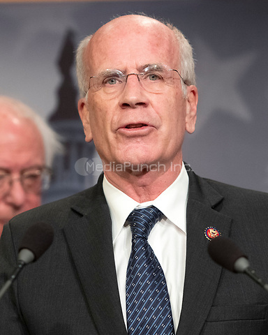 United States Representative Peter Welch (Democrat of Vermont) makes remarks at a press conference in the US Capitol in Washington, DC announcing a Democratic package of three bills to be introduced in the US Senate and US House to control prescription drug prices on Thursday, January 10, 2019.<br /> Credit: Ron Sachs / CNP /MediaPunch