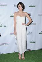 23 February 2017 - Santa Monica, California - Lauren Cohan.  2017 Oscar Wilde Awards held at Bad Robot. Photo Credit: Birdie Thompson/AdMedia