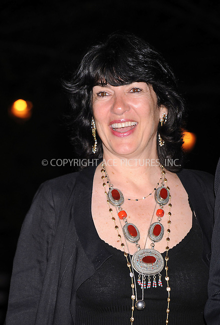WWW.ACEPIXS.COM . . . . . ....April 21 2009, New York City....CNN's Christiane Amanpour arriving at the Vanity Fair party for the 2009 Tribeca Film Festival at the State Supreme Courthouse on April 21, 2009 in New York City.....Please byline: KRISTIN CALLAHAN - ACEPIXS.COM.. . . . . . ..Ace Pictures, Inc:  ..tel: (212) 243 8787 or (646) 769 0430..e-mail: info@acepixs.com..web: http://www.acepixs.com