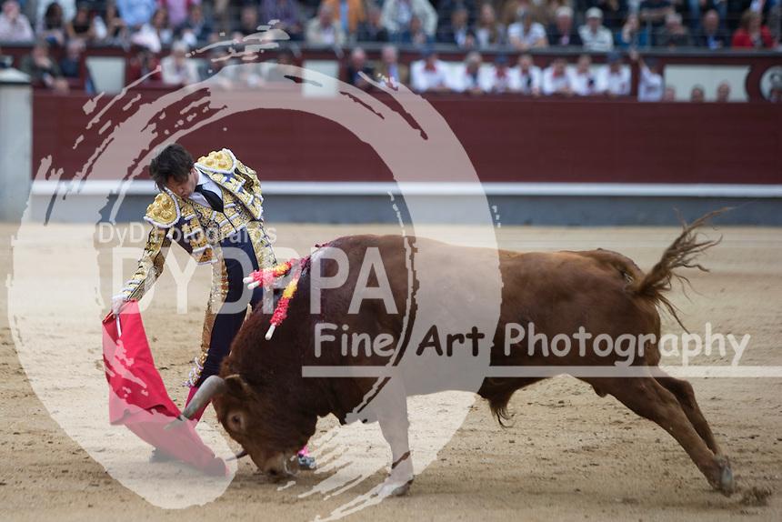Bullfighter Juan del Alamo