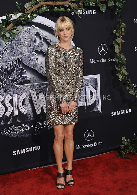 WWW.ACEPIXS.COM<br /> <br /> June 9 2015, LA<br /> <br /> Anna Faris arriving at the world premiere of 'Jurassic World' at the Dolby Theatre on June 9, 2015 in Hollywood, California. <br /> <br /> <br /> By Line: Peter West/ACE Pictures<br /> <br /> <br /> ACE Pictures, Inc.<br /> tel: 646 769 0430<br /> Email: info@acepixs.com<br /> www.acepixs.com