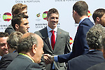 MADRID (24/05/2010).- Prince Felipe of Borbon visited Las Rozas Soccer City where he inagurated the RFEF Museum and met the Spains National Team players selected  for South Africa World Cup. Fernando Torres...Photo: Cesar Cebolla / ALFAQUI