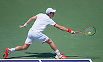 Andy Murray (GBR) loses in the finals  at the Sony Ericsson Open in Key Biscayne, Florida on April 1, 2012..