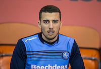 Nick Freeman of Wycombe Wanderers ahead of the The Checkatrade Trophy match between Blackpool and Wycombe Wanderers at Bloomfield Road, Blackpool, England on 10 January 2017. Photo by Andy Rowland / PRiME Media Images.