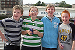 James Reay, Aoife Murtagh, Bryan Reay and Rory Callaghan at the Launch of the Samba Festival in the D Hotel...Photo NEWSFILE/Jenny Matthews.(Photo credit should read Jenny Matthews/NEWSFILE)....This Picture has been sent you under the condtions enclosed by:.Newsfile Ltd..The Studio,.Millmount Abbey,.Drogheda,.Co Meath..Ireland..Tel: +353(0)41-9871240.Fax: +353(0)41-9871260.GSM: +353(0)86-2500958.email: pictures@newsfile.ie.www.newsfile.ie.FTP: 193.120.102.198.