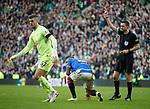 29.12.2019 Celtic v Rangers: Alfredo Morelos red carded