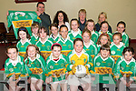 .FUTURE CHAMPIONS: The newly formed John Mitchells Ladies Under 12 football team who were presented with playing gear  by their sponsor Slatterys Carpet and Furniture Centre at a function on  Thursday last. Front L/r. Kelly O'Brien, Aisling Cannon Brosnan, Sarah Sheehan, Kelly O'Shea, Jade Powell, Leeanne Morrissey O'Brien..Second row L/r. Myra hannafin, Rachel McEnery, Ciara Kilgalloen, Lauren Houlihan, Jamie Lee Duggan, Niamh Callaghan, Alice Jaeger, Niamh Myers, Jane Carmody, Michaela Hennessy, Maura Buckley..Back L/r. Dave Slattery, Brid mcElligott (chairperson og John Mitchells GAA Club), Ann Eager (Ladies Coach) and Andrea O'Connor (Ladies Coaching staff).   Copyright Kerry's Eye 2008