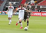 nph00001:  nph0001:  17.05.2020 --- Fussball --- Saison 2019 2020 --- 2. Fussball - Bundesliga --- 26. Spieltag: FC Sankt Pauli - 1. FC Nürnberg --- --- DFL regulations prohibit any use of photographs as image sequences and/or quasi-video - Only for editorial use ! --- <br /> <br /> Nikola Dovedan (8, 1. FC Nürnberg ) Rico Benatelli (26, FC St. Pauli ) <br /> <br /> Foto: Daniel Marr/Zink/Pool//via Kokenge/nordphoto