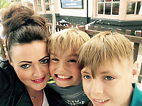 "Pictured: James O'Mara (R) with his mum Becci (L) and brother Charlie (C), image taken from relative's open social media account<br /> Re: A young rugby player died just a week after being diagnosed with leukaemia. <br /> James O'Mara, 13, was a happy and healthy schoolboy but suddenly complained of feeling unwell.<br /> His family thought he had a sickness bug but tests showed James had acute myloid leukaemia.<br /> He battled the illness for just a week before dying at Birmingham Children's Hospital surrounded by his heartbroken family.<br /> His aunt Amanda Tanner, 41, said: ""He was always laughing, joking and smiling - he didn't see the point in homework.<br /> ""He loved being outside doing anything that could be adventurous."
