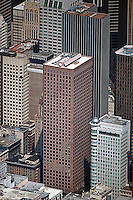 aerial photograph Post Montgomery Center 1 Montgomery Street office tower  San Francisco